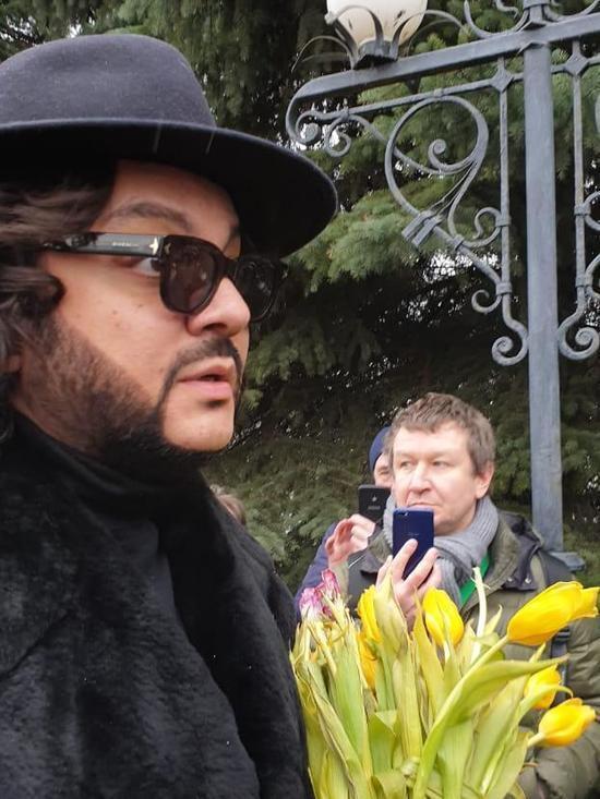 Фото похорону Юлії Началової: хто із зірок відвідав