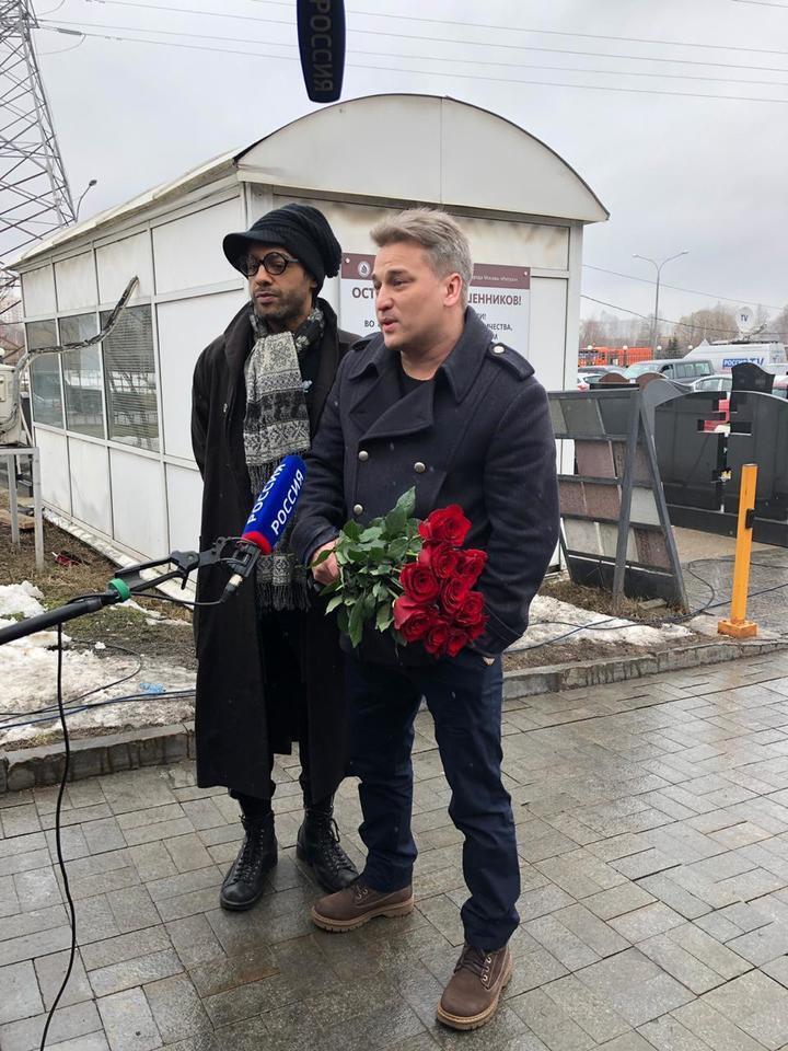 Фото похорон Юлии Началовой: кто из звезд посетил