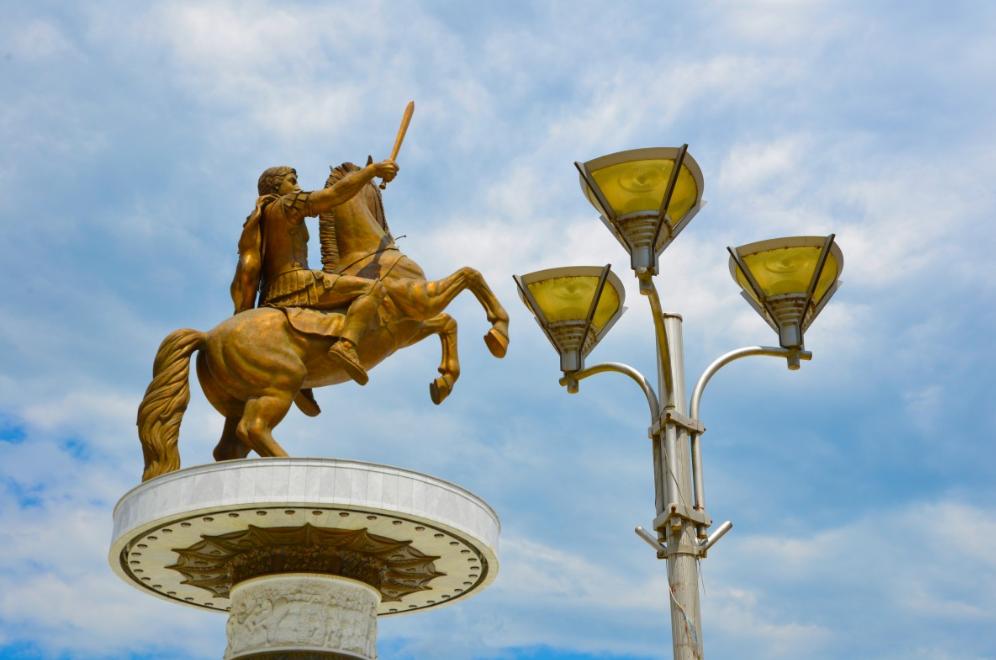 Пам'ятник Олександру Македонському