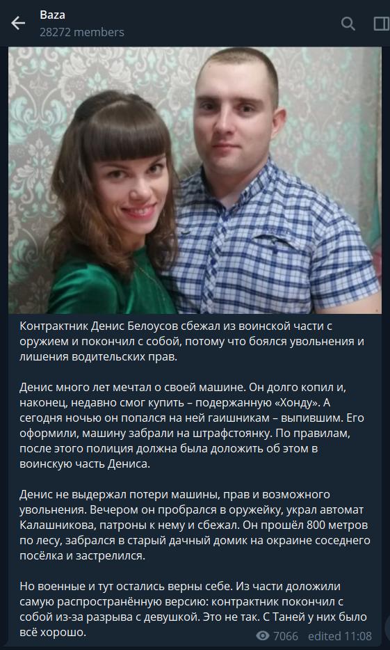 Денис Білоусов: хто він і що відомо про його дивну смерть, фото