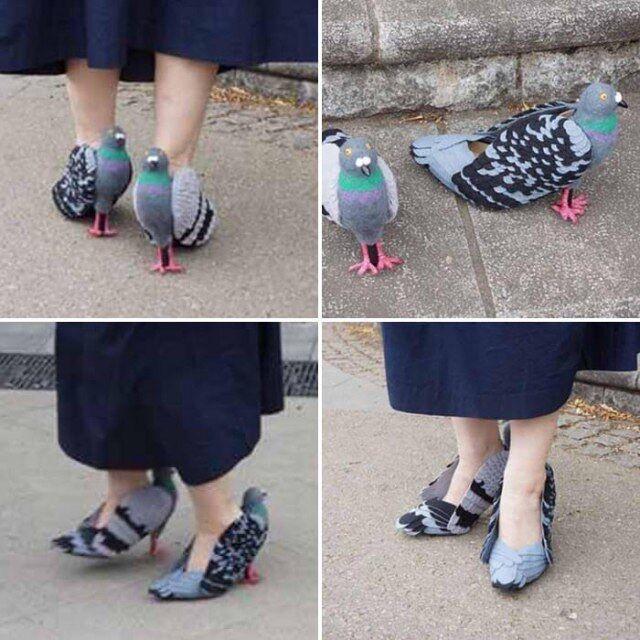 Уггі на підборах та туфлі з бекону – у найдивнішого зуття у світі є свій Instagram, фото