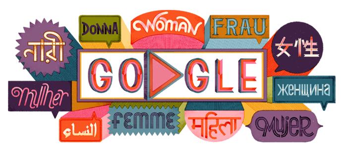 Международный женский день: Google дал пощечину Фарион
