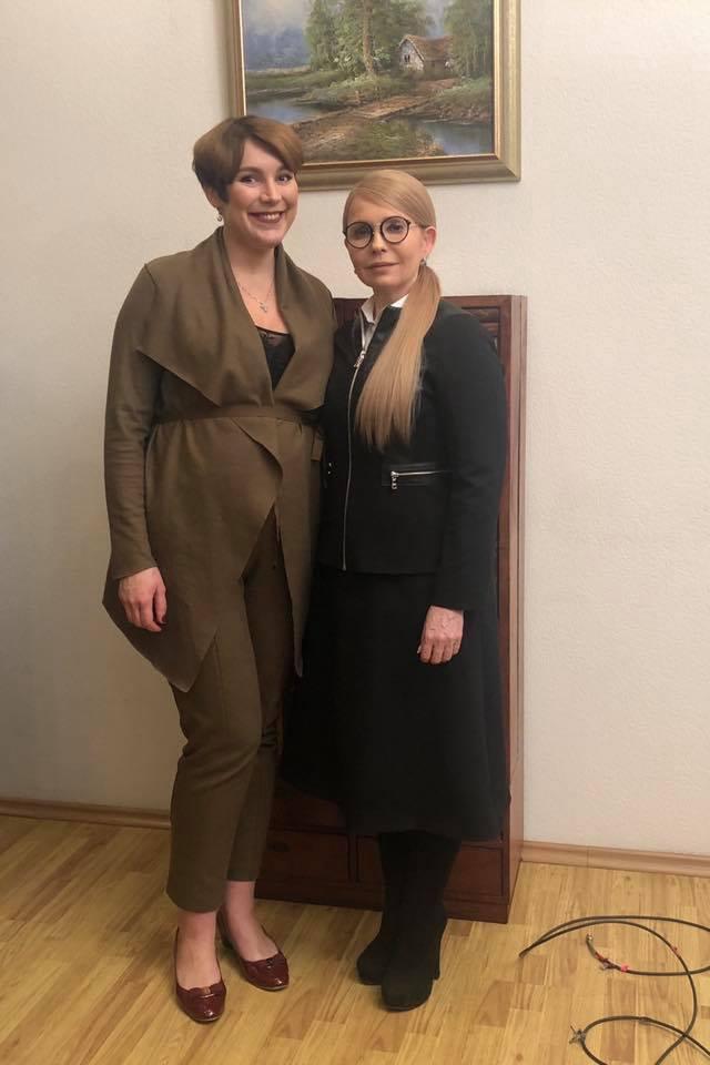 Соня Кошкіна та Юлія Тимошенко