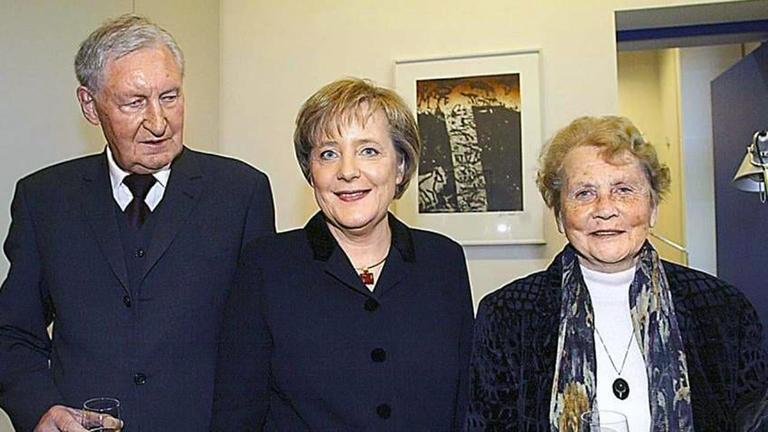 Родители Ангелы Меркель — Хорст и Герлинда Каснеры