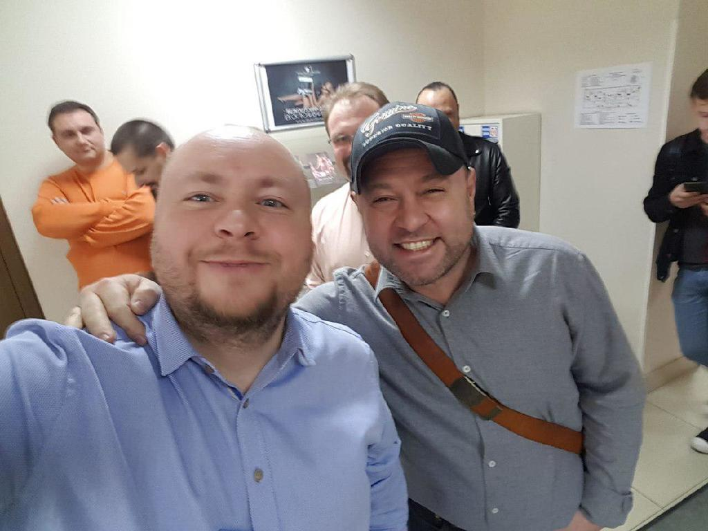 Денис Иванеско и Александр Пикалов