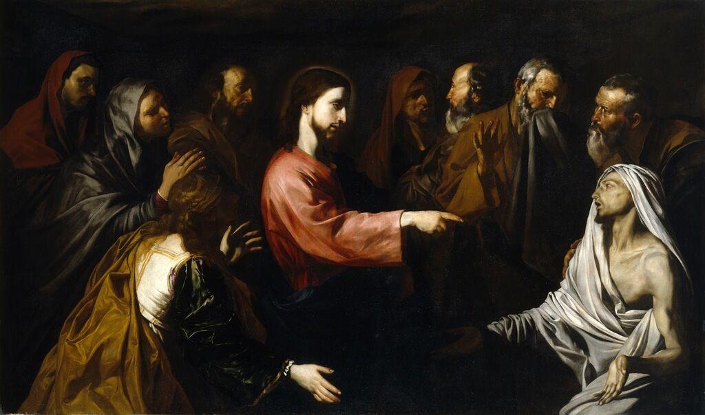 Хосе де Рибера. Воскрешение Лазаря