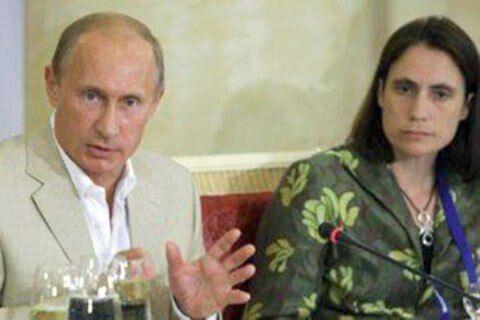 Владимир Путин и Фиона Хилл