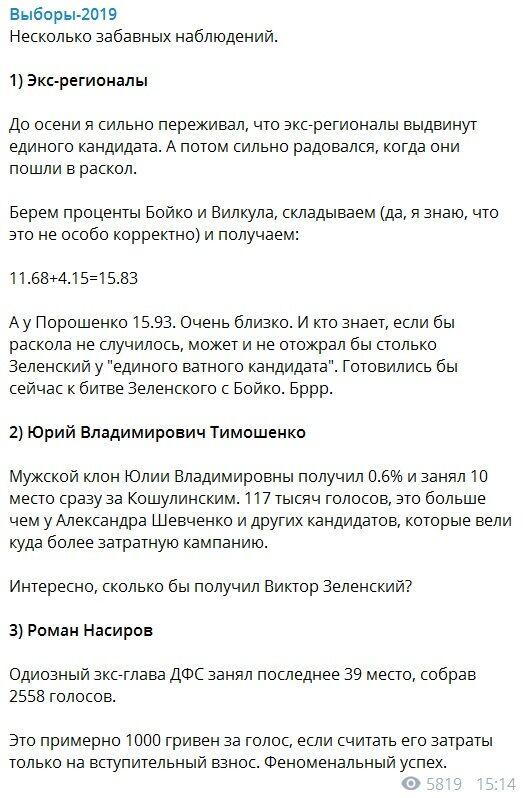 Бойко и Зеленский во втором туре: журналист рассказал о неожиданном сценарии