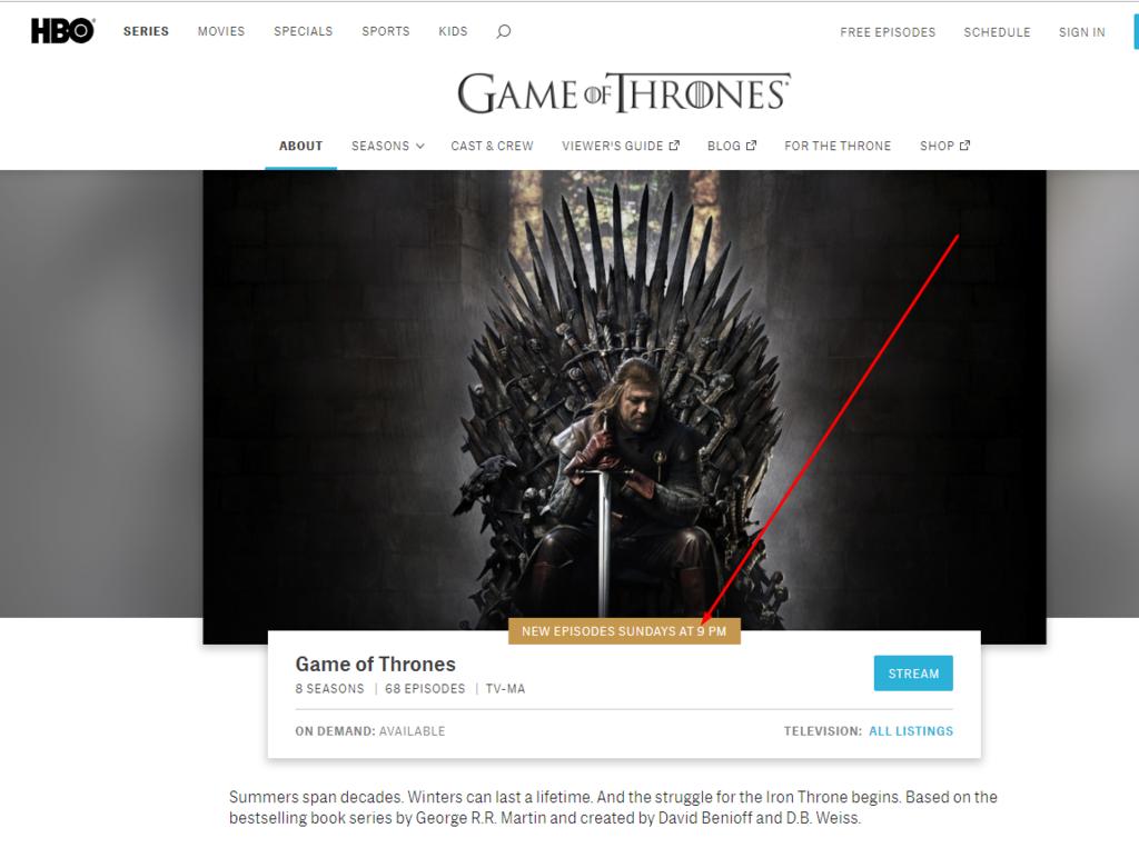 """Где и во сколько смотреть вторую серию 8 сезона """"Игры престолов"""""""