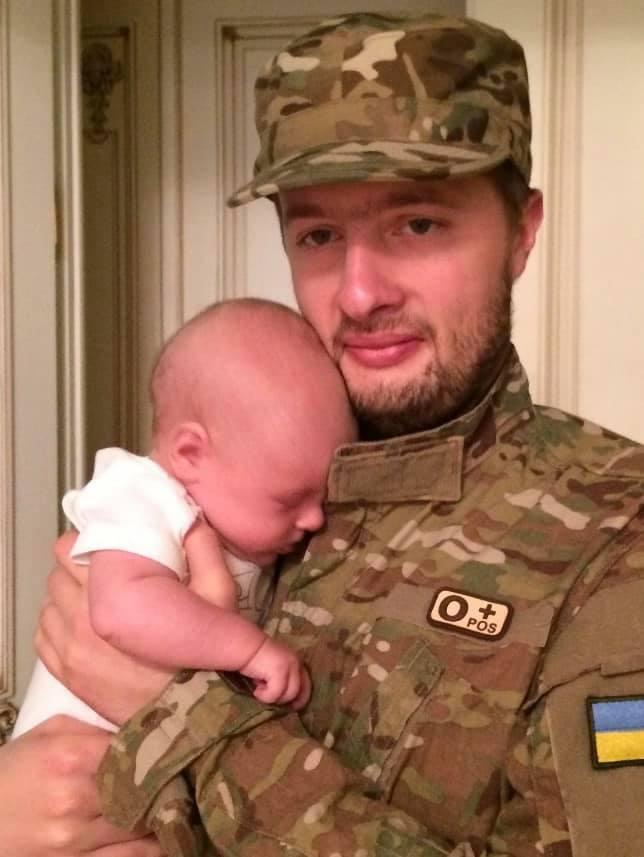 Алексей Порошенко с сыном Петей