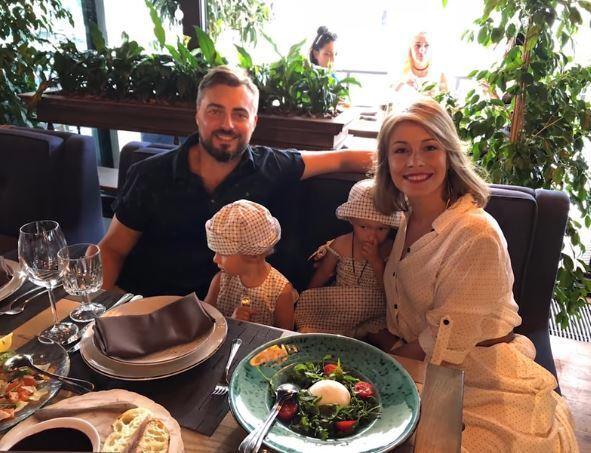 Елена Кравец впервые показала фото своих детей
