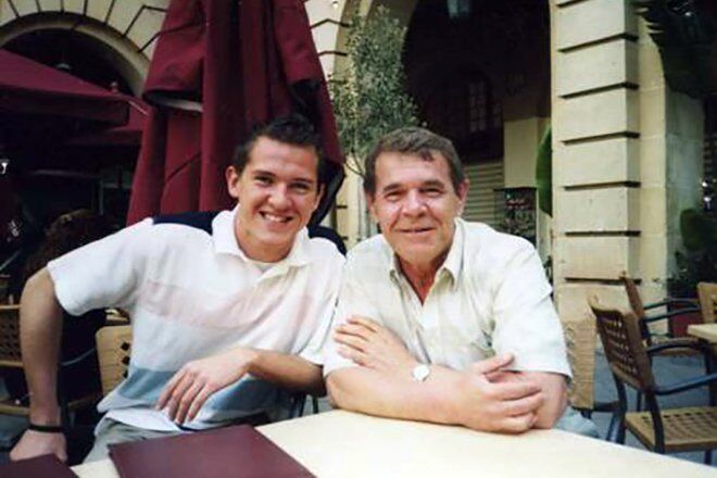 Алексей Булдаков и его сын Иван