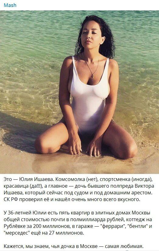 Юлія Ишаєва потрапила в скандал: хто вона і чим здивувала, фото