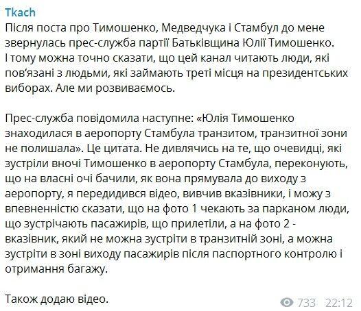 Тимошенко спробувала обдурити з Туреччиною? Що у неї відповіли журналісту