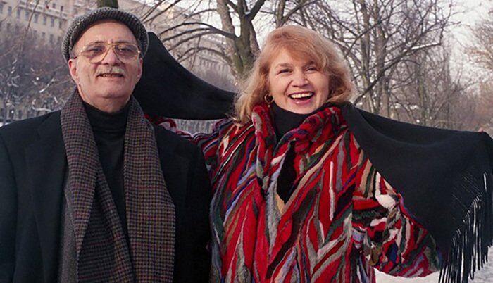 Галина Юркова и Георгий Данелия