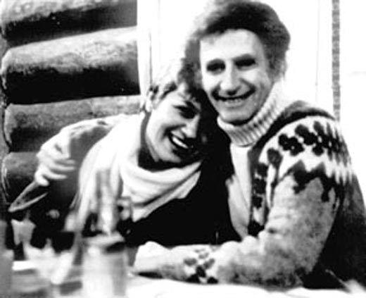 Галина Юркова и Марсель Марсо