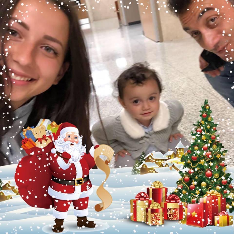 Тетяна Гужва і Фуад Пашаєв з дитиною