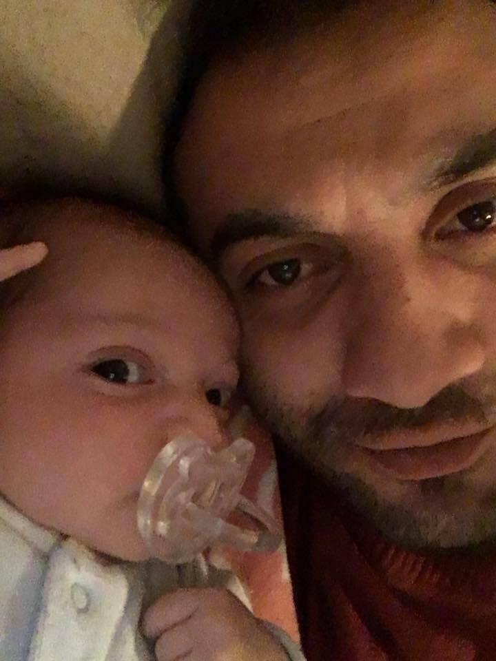 Фуад Пашаєв з дитиною
