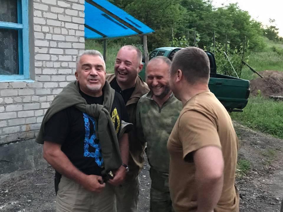 На фото слева направо: Владимир Слабовский, Марк Гордиенко, Дмитрий Ярош, Андрей Гергерт