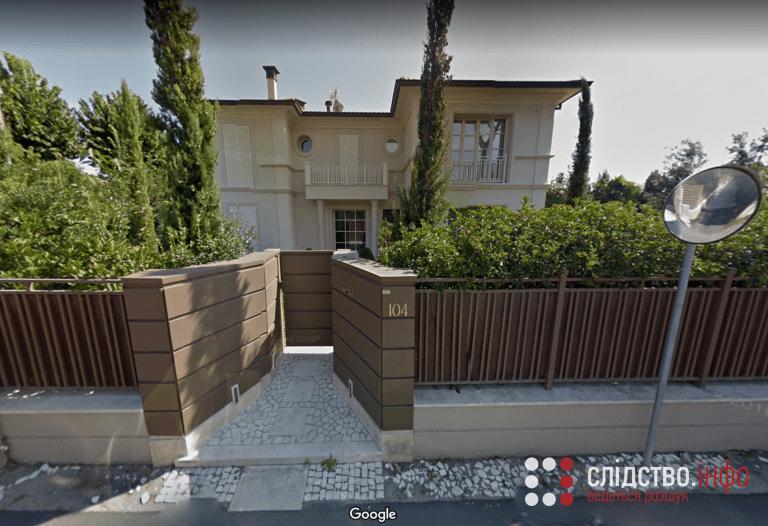 Вілла Зеленського у Форте-дей-Мармі, Італія