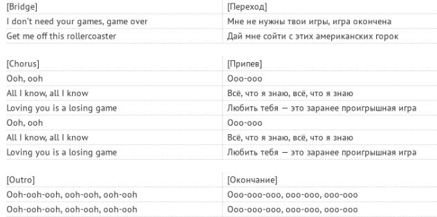 Аркада: текст і переклад пісні Дункана Лоуренса