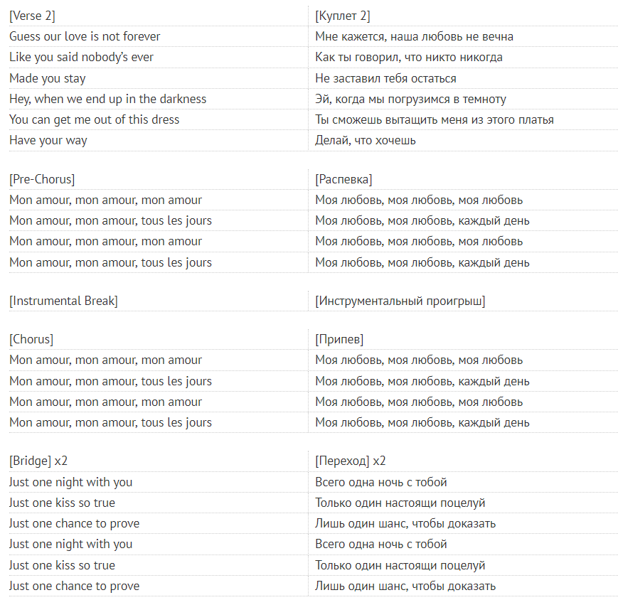 Mon Amour: переклад треку Mosimann & MARUV, скачати пісню онлайн