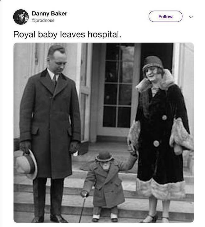 Арчі Харрісон - мавпа: твіт з жартом, за який поплатився ведучий BBC