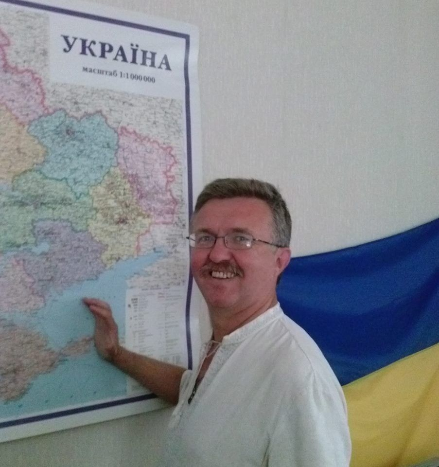Хто такий Василь Чепурний і як він потрапив в расистський скандал, фото