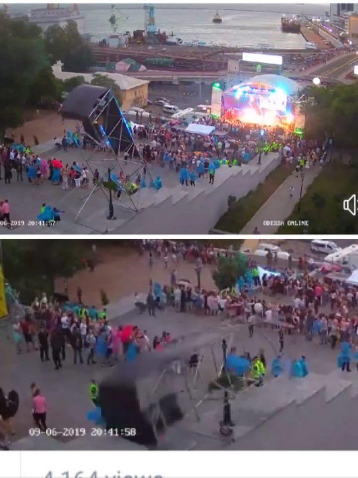 """Удаленное с Youtube видео: какое ЧП случилось на концерте партии Труханова-Кернеса """"Доверяй делам!"""""""