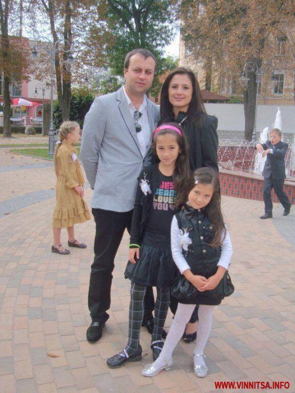 Сергій Борзов з родиною