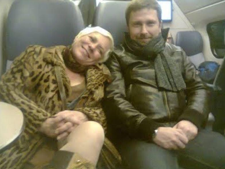 Елена Манченко (Шарий) с Анатолием