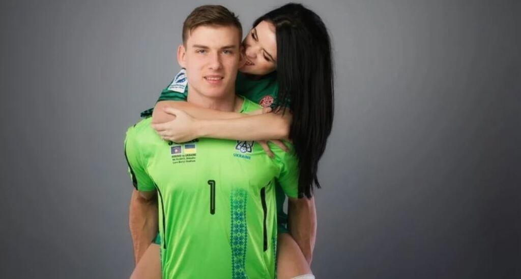 Андрей Лунин с Анастасией Тамазовой