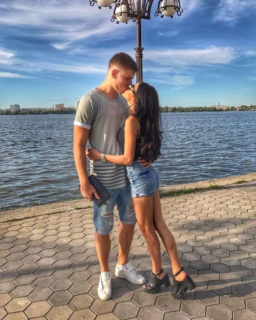 Андрій Лунін з Анастасією Тамазовою