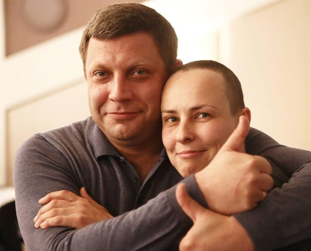 Александр Захарченко и Юлия Чичерина