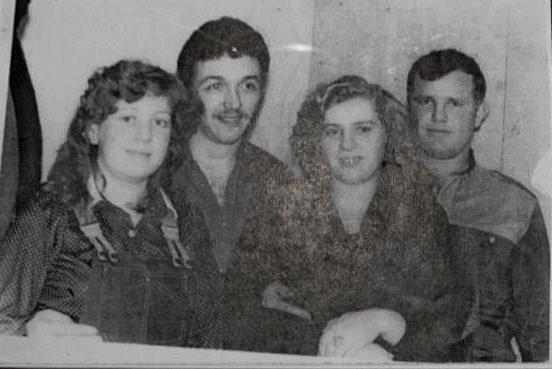 Людмила и Василий Игнатенко с друзьями