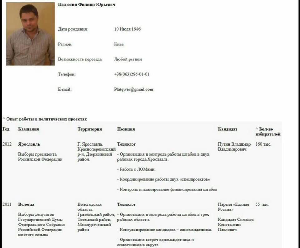 В команде Дубинского нашли ярого антимайдановца и политтехнолога Путина