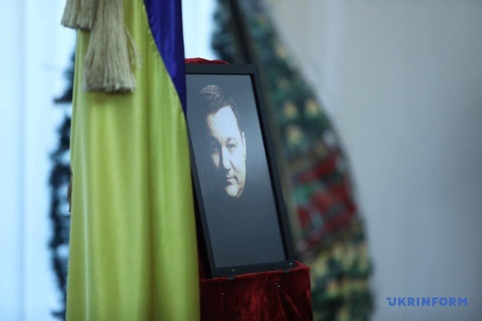 Відспівували священики: фото з церемонії прощання з Дмитром Тимчуком