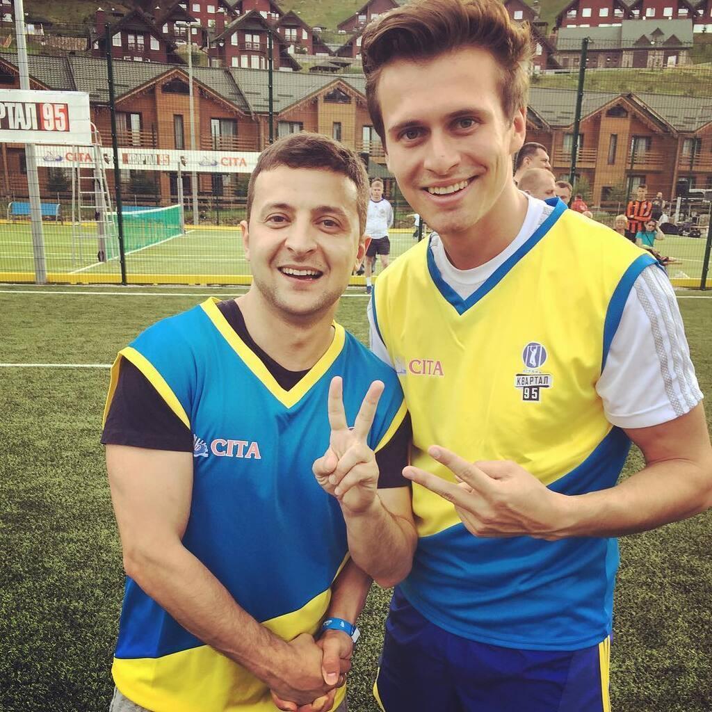 Володимир Зеленський і Олександр Скічко