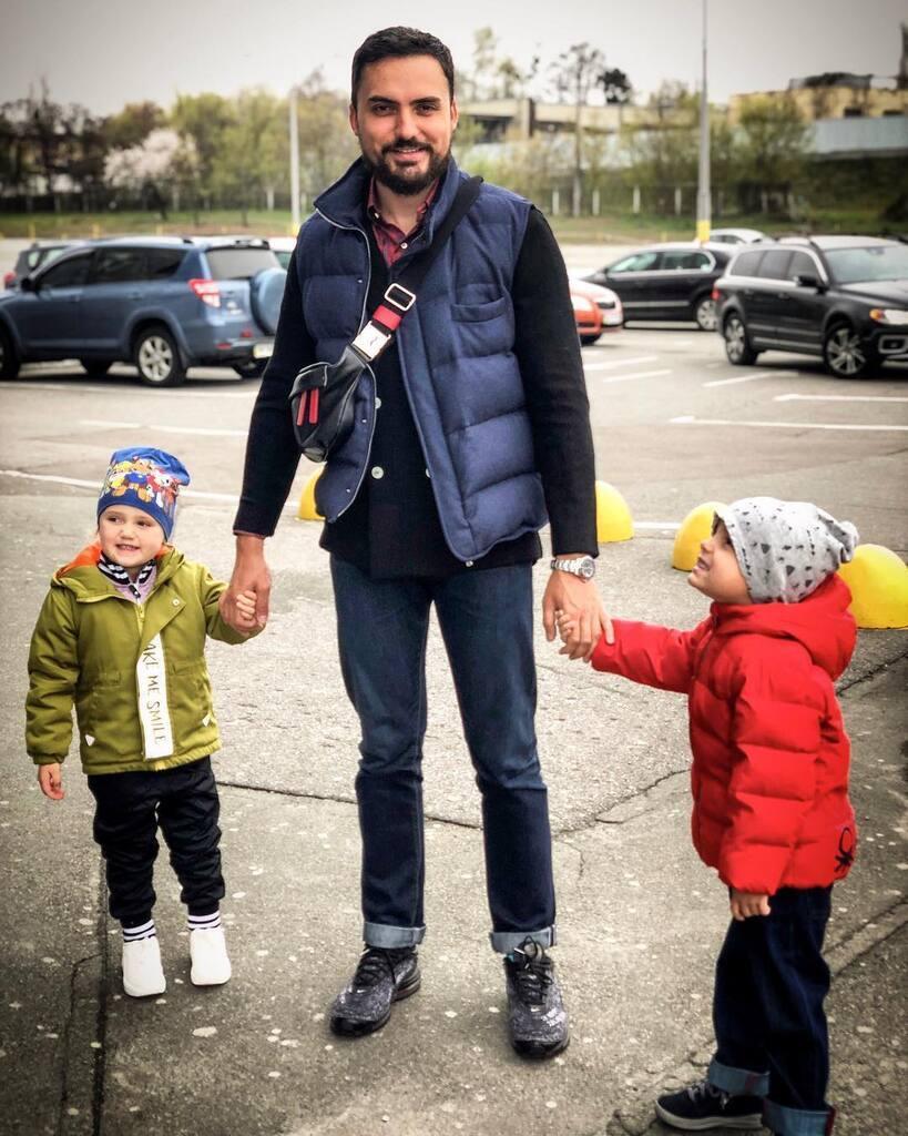 Едгар Камінський з дітьми