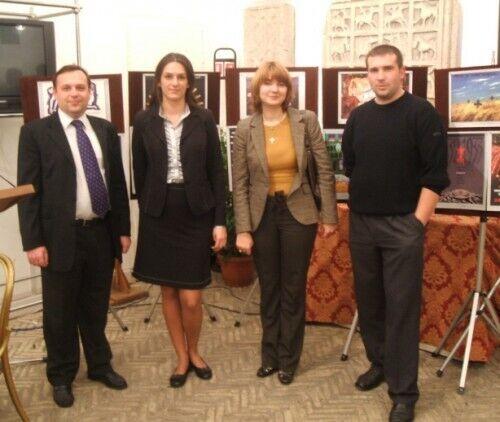 Марина Михайленко з колегами
