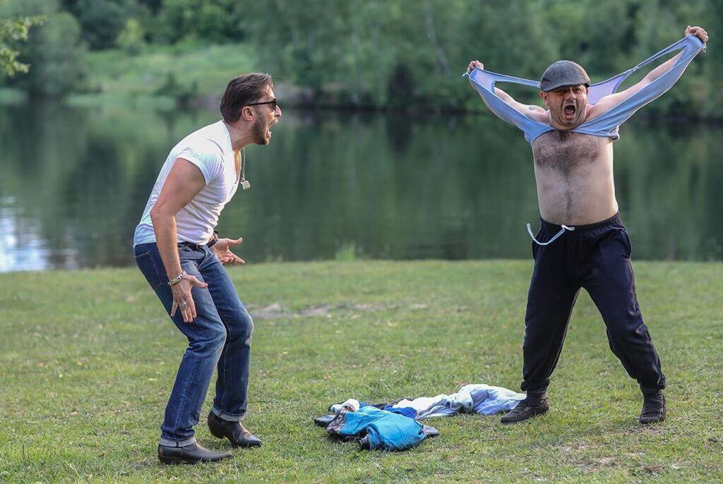 Алкоголичка: Артура Пирожкова поразил жест Галустяна, фото