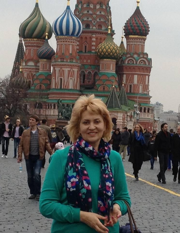 Теща Сергея Притулы Лилия Сопельник