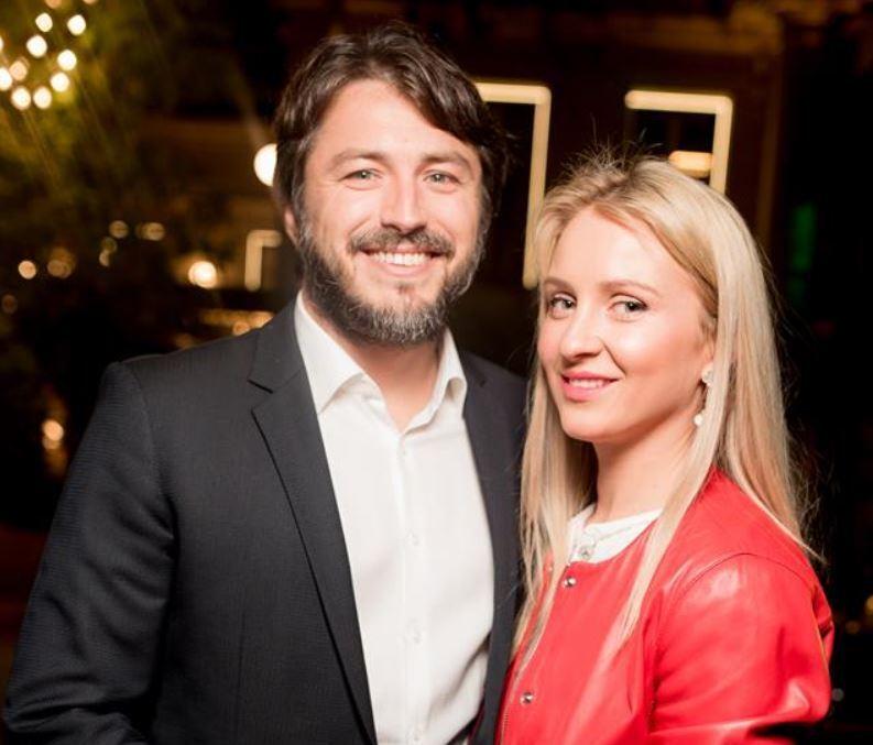 Сергій Притула та Катерина Сопельник