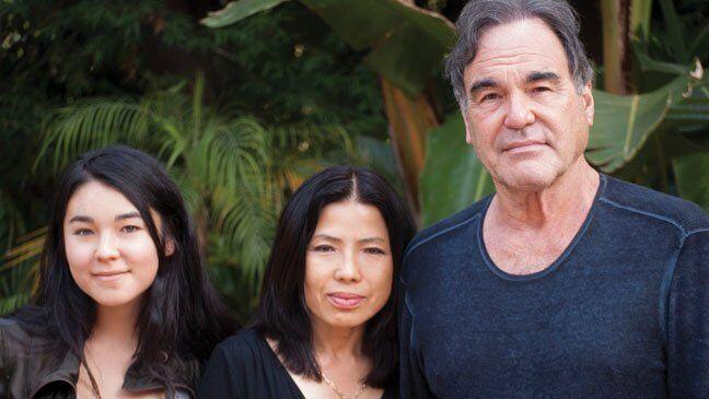 Тара Чонг с родителями