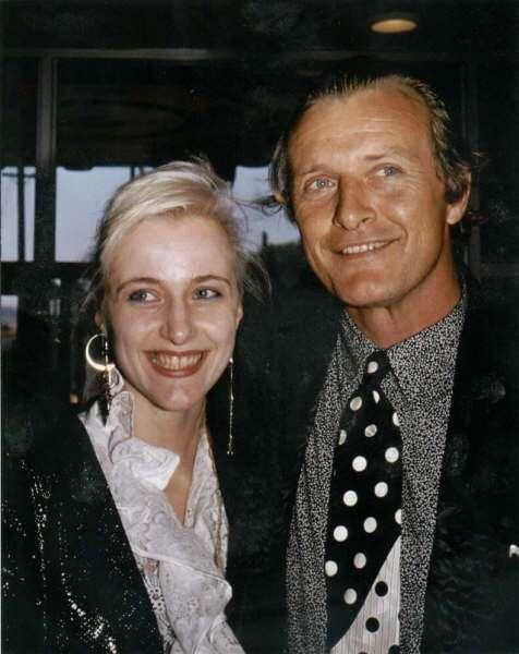 Айша Хауер з батьком Рутгром Хауер