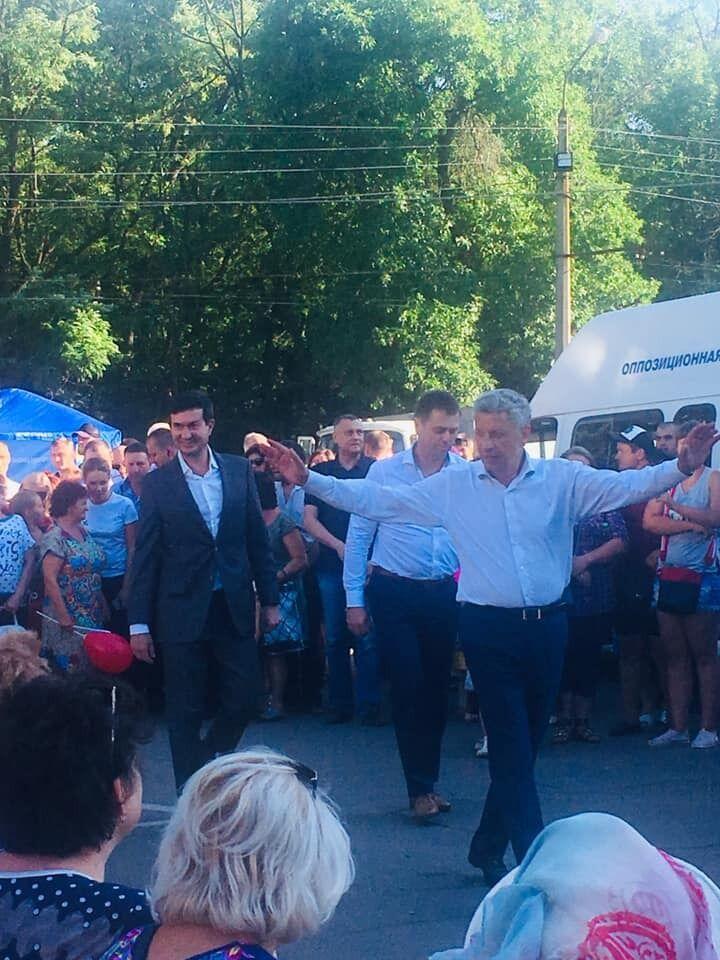 Шабаш партии ОПЗЖ в Славянске привел в ужас журналистку