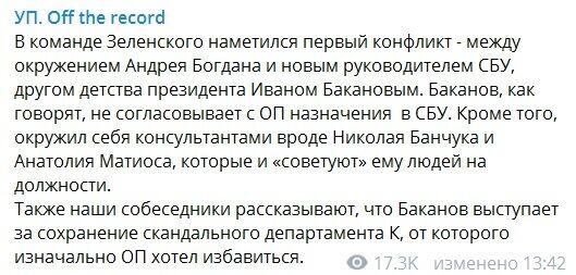 Конфлікт у Зеленського: друг президента побив горщики з близьким соратником Коломойського – ЗМІ