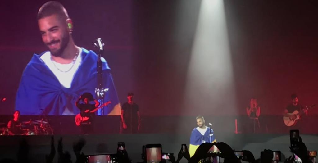 Малума на концерте в Киеве сделал особый жест для украинцев, видео