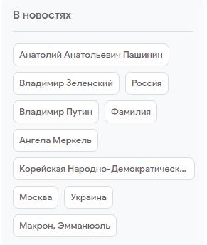 Тренды Гугла по России