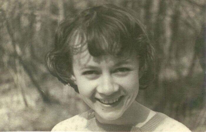 Олександра Назарова в молодості